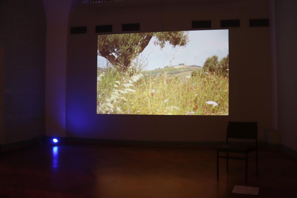 Lichtbilder fern.weh / Pause / Videoloop / Ria Gerth, Dagmar Lutz, Beate Gördes, Ludger F. J. Schneider